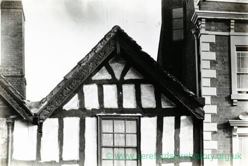 Li1453 Hereford King Street No 5 - West gable (i) 1903.jpg