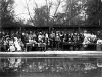 Opening of Open Air Swimming Bath, Wandle Park