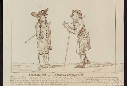 Contradiction of strange consolation,  1790