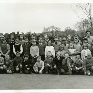 RGS001 - A class photo, featuring two dogs, 1963.jpg