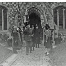 1953 Remembrance Day Service