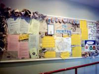 Display by Jenny Ebbett and Heather Constance, Wimbledon Reference Library
