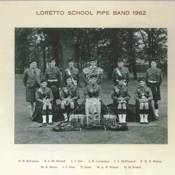 Pipe Band 1962