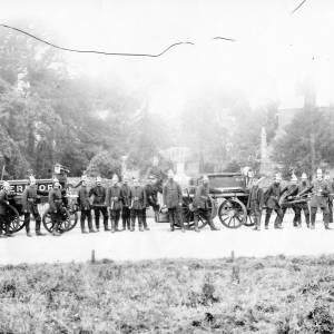 Members of Hereford Fire Brigade.