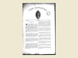 The Radleian 1911 - No. 378 December