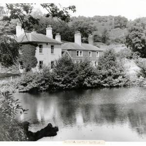 Eastnor, Moat of Bronsil Castle