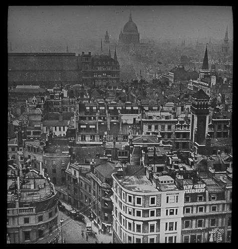 View of London from the monument
