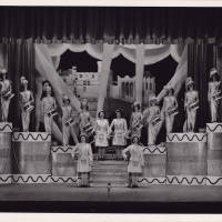 Photograph - 1951 Gaiety Whirl - female performers on stage