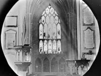 East window of Mitcham Parish Church