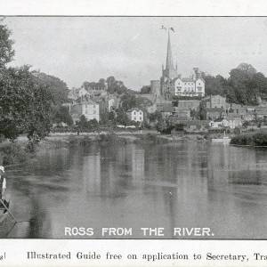 Ross from the River, Davies postcard