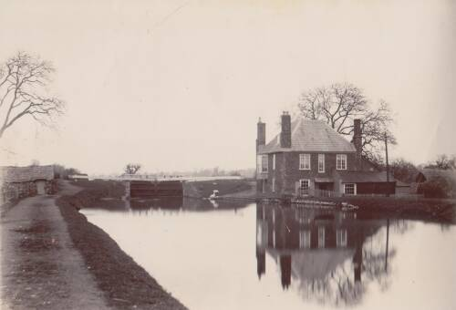 Double Locks, photograph, c1900, Exeter