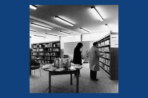 West Barnes Library, Station Road, Motspur Park