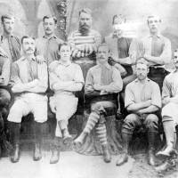 Bootle Football Club, winners of the Liverpool & District Association Challenge Cup 1882-83