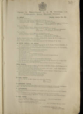 Routine Orders - June 1917 - June 1918 - Page 251