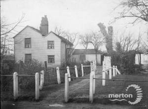 Phipps Bridge, Mitcham: White Cottage