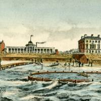 Southport, Old Jetty, baths reservoir