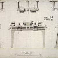 Double lathe machine