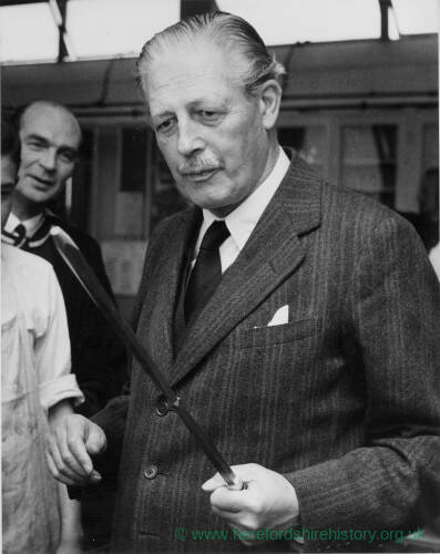 686 - Portrait of Harold Macmillan
