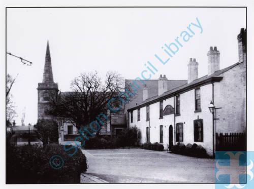 St. Cuthbert's Church and Hesketh Arms Churchtown
