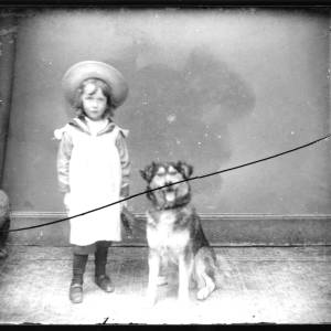 G36-156-13 Small child with a dog.jpg