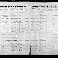 Burial Register 83 - July 1943 to April 1945