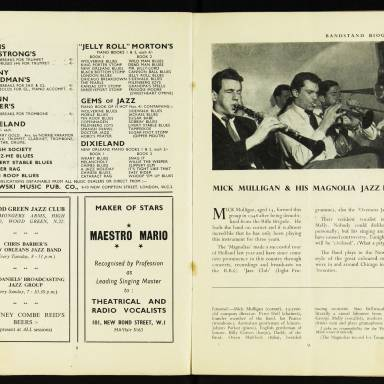 National Federation of Jazz Organisations, Royal Festival Hall - 1955 006