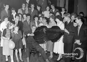 Carshalton Youth Club dance at the British Legion Hall