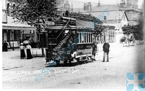 Cheshire lines Station Southport