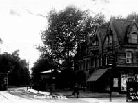 Coombe Lane and the corner of Amity Grove, Raynes Park