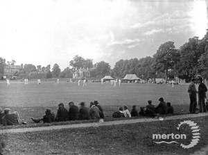 Cricket Match, Cricket Green, Mitcham