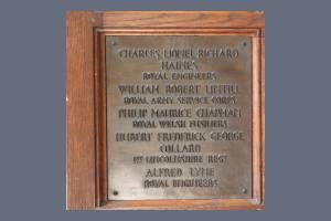 Memorial Plaque - Haines, Lintill, Chapman, Collard & Lyne