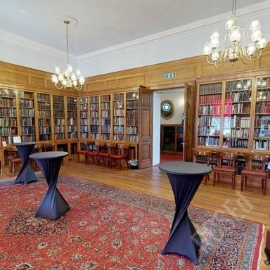Virtual Tour Room - Fellows' Library