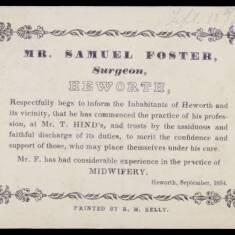 Samuel Foster, Surgeon