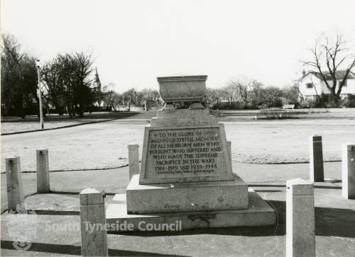 War Memorial at Carr Ellison Park
