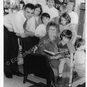 Chapeltown Library Reading Event with Cllr. Mrs Pat Midgely 1990s