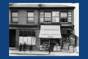 F. Barringer, Tobacconist, Merton High Street