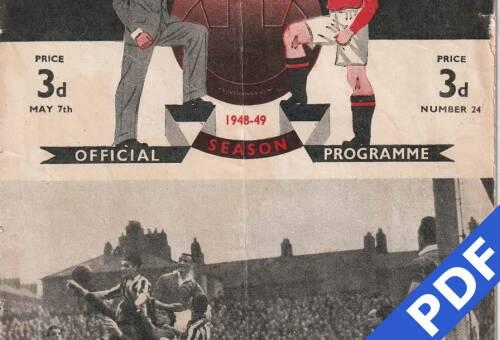 19490507 Man United Away