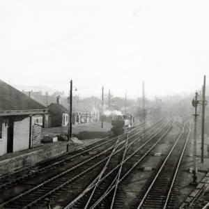 Railway in Hereford, 1961
