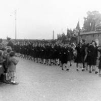 Bootle Victory Parade in 1945