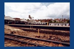 Wimbledon Station, Underground line