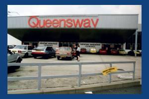 Plough Lane, Wimbledon: Queensway furniture store