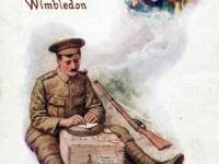 Wartime Postcard, Wimbledon: First World War