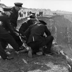 Marsden Beach Cliff Rescue