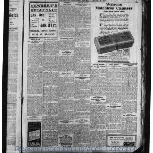 Reading Standard Etc 1914