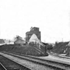 1920s Dunstable Lime Co Ltd Works at Sewell Showing Railway Spur