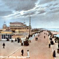 Marine Drive and the Pier, Southport