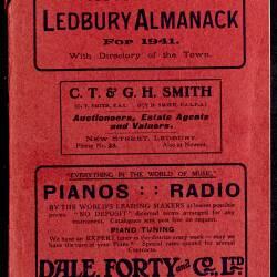 Tilley's Ledbury Almanack 1941