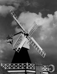 Close-up of the windmill, Wimbledon Common