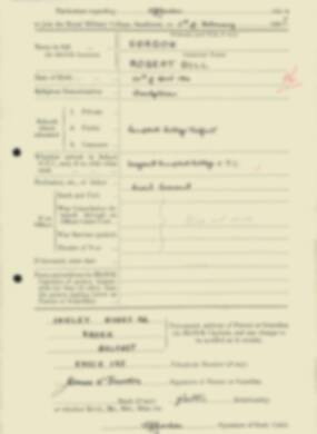 RMC Form 18A Personal Detail Sheets Feb & Sept 1933 Intake - page 51
