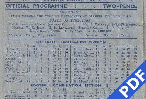 19481127 Arsenal Home